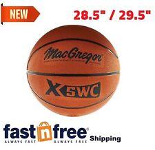 "MacGregor Rubber Street Basketball Official Size 28.5""/29.5 In/Outdoor Play Hoop"