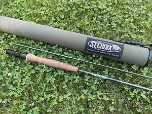 St. Croix Avid Fly Rod – A904.2 – 9' – 4Wt – 2Pc Fly Rod  w/tube case Excellent