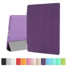 Purple iPad 3rd Generation Stand Magnetic Smart Case Cover for Apple