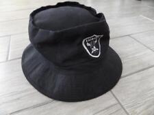 vtg 1990s Bucket Hat LA RADIERS Black Spellout snapback nwa