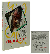 The Wedding CHARLES BUKOWSKI ~ File Copy ~ Signed Limited First Edition 1st 1986