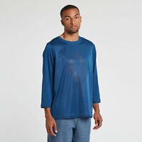 NIKE AIR NIKELAB X PIGALLE 7/8 TOP SHIRT LS BASKETBALL TEE BLUE 880214-423 XL