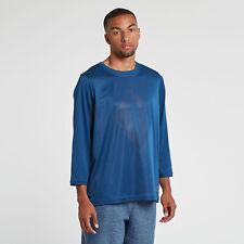 NIKE AIR NIKELAB X PIGALLE 7/8 TOP SHIRT LS BASKETBALL TEE BLUE 880214-423 XL