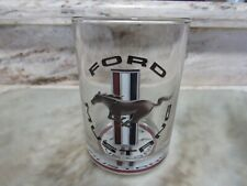 Ford Mustang Logo Glass Collectible - Rare