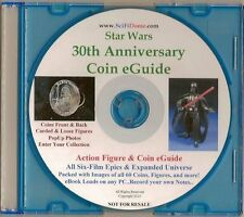Star Wars 30th Anniversary Coin eBook Collector's Guide Action Figure Coins