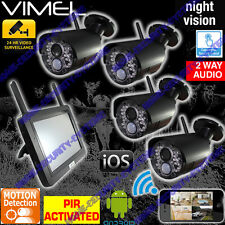 Home Security Camera System House CCTV IP Night Vision Backup Remote Monitoring