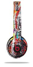 Skin Beats Solo 2 3 Abstract Graffiti Wireless Headphones NOT INCLUDED