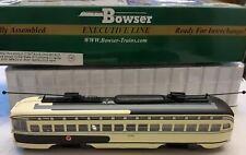 Bowser Executive line PCC Kansas City (San Francisco Muni) DCC equipped.