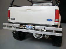 Custom Aluminum Rear Bumper Bar Guard for Tamiya 1/10 Ford F350 Bruiser Tundra