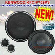 """KENWOOD KFC-P709PS PERFORMANCE SERIES 6-3/4"""" COMPONENT SPEAKERS ALSO FITS 6 1/2"""""""