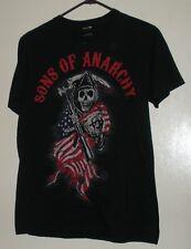 Sons of Anarchy Shirt Reaper American Flag Adult Medium M