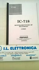 Haynes Manual Italian Instructions D' Use for Icom IC-718