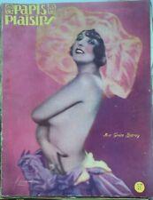C1 SIMENON pseudo SIM GOM GUT PARIS PLAISIRS 1930 Curiosa JEAN CAROIFFA