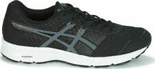 Asics Patriot 9 Negro/Carbón/Blanco Zapatos De Entrenamiento De Malla UK 6 - 10.5