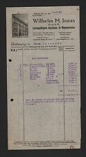 BERLIN, Rechnung 1929, Wilhelm M. Jonas GmbH Spezialhaus für Wiederverkäufer