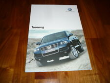 VW Touareg folleto 09/2005 España