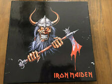 Iron Maiden Limited Picture Vinyl Box Set Only 275 Made - Never Played