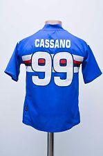 SAMPDORIA ITALY 2007/2008 HOME FOOTBALL SHIRT JERSEY KAPPA #99 CASSANO KIDS