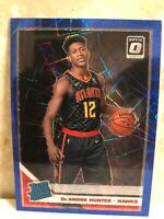 2019-20 Donruss Optic Blue Velocity Rated Rookie #198 De'Andre Hunter RC MINT