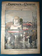 La Domenica del Corriere originale 10 Maggio 1925 Vittoria Hindenburg Germania