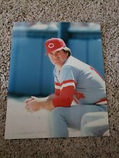 MLB Pete Rose Cincinnati Reds 8x10 Photo