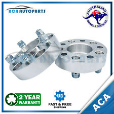 2 x PCD Wheel Spacer Adapters 35mm 5x114.3 for Ford Falcon AU BA BF FG XC PRE-AU