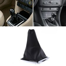 PU Leather Gear Stick Gaiter Boot Shift Knob Cover For Ford Focus 2005-2012