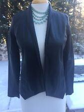 Jack By BB Dakota Faux Leather Blazer Size xs NWT Black