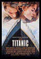 TITANIC * CineMasterpieces 1997 1SH ORIGINAL DS MOVIE POSTER LEONARDO DICAPRIO