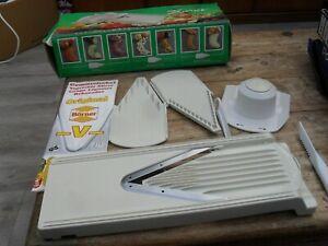 vintage borner V ultimate food processor authentic original unused kitchen tool