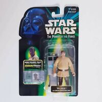 Star Wars Wuher + Droid Comm Tech Power Of The Force Kenner 1999 Vintage Figure