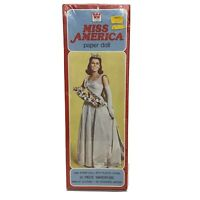 Whitman 1980 Miss America Paper Doll Kit 31 Piece Wardrobe NEW Sealed