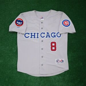 Andre Dawson Chicago Cubs w/ 1991 Grey Road Men's Jersey w/ Team Patch XL