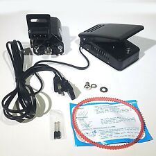 SEWING MACHINE MOTOR & FOOT PEDAL CONTROL SET FITS SINGER 15 CLASS .9 AMPS