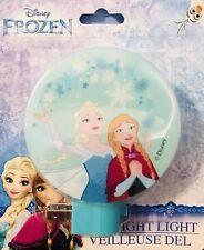 Led Night Light Disney Frozen Theme Anna & Elsa w