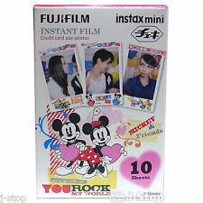 10 Disney Mickey Instax Mini 25 Films Fujifilm Mini 50/7s Mini 8 Mini 90 NEO