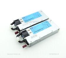 2x HP PSU HSTNS-PL14 für DL360 G6 P/N: 499250-201 499249-001 511777-001
