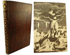 1688 Paradise Lost,John Milton. Folio, 4th Edition, 1st Illustrated, Large Paper