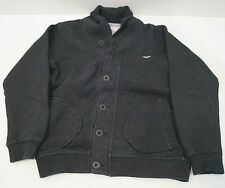ARMANI JUNIOR Boys Charcoal Grey Cotton Branded Casual Jacket Top 8A