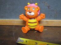 "1985 Disney's Wuzzles 4"" Poseable PVC plastic Figure HTF Bumblelion lion bee toy"
