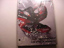 Polaris 2006 120 Pro X Snowmobile Factory Service Manual - 9919766