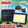 100 LEDs Solar Power PIR Motion Sensor Wall Lights Outdoor Garden Security Lamp