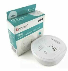 Aico Ei208audiolink Carbon Monoxide Alarm 10yr Battery 2031
