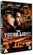 DVD:THE YOUNG LIONS - NEW Region 2 UK