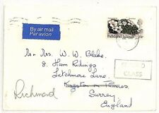 SS154 1970s FALKLANDS to GB Surrey Richmond Commercial Airmail {samwells-covers}