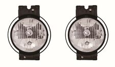 FREIGHTLINER CENTURY 2007-2011 RIGHT LEFT OUTER HEADLIGHTS HEAD LAMPS LIGHT PAIR