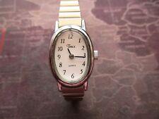 Timex reloj de mujer de cuarzo, celda de cr216, sólo Equipado, Funcionando