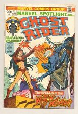 Marvel Spotlight on Ghost Rider #11 - Spells of the Witch-Woman 1973 (Vf-) Wh