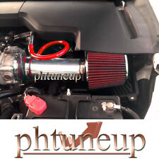 RED 2009-2014 ACURA TL 3.5 3.5L 3.7 3.7L V6 AIR INTAKE KIT SYSTEMS + FILTER