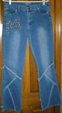 """O""""Lico Women's Denim Jeans Handcrafted Nice Looking Size 13"""